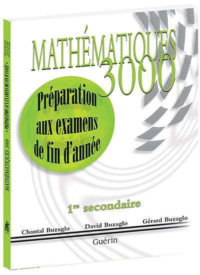Math U00e9matiques 3000 - Secondaire 1